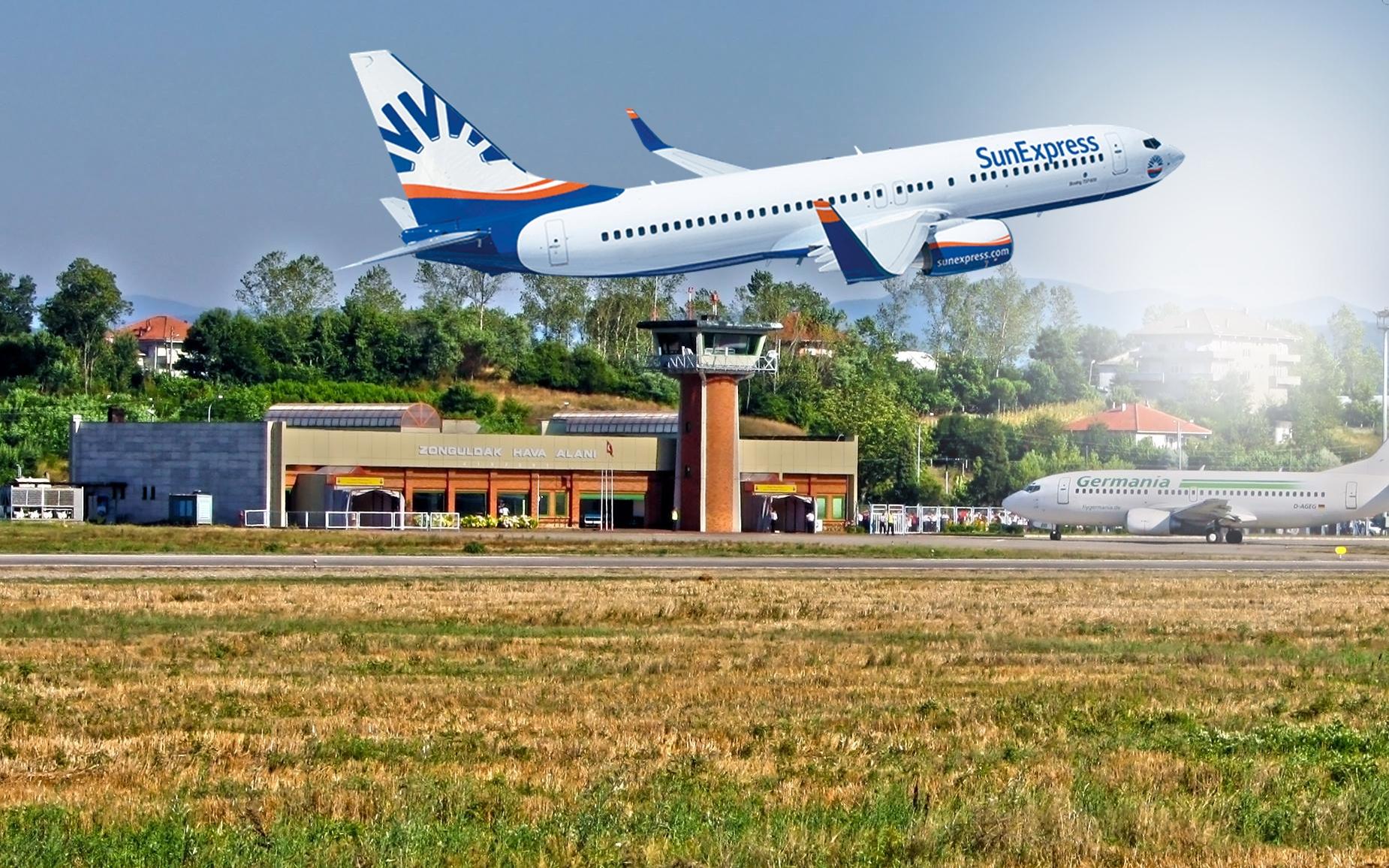 Sunexpress Hava Yolları, Zonguldak'tan Almanya'ya uçacak