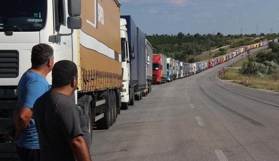 Yunan TIR şoförlerinin grevi nedeni ile İpsala Sınır Kapısı 24 saat kapalı kalacak